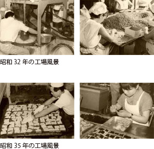 昭和35年の工場風景